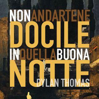 🌝 Non andartene docile in quella buona notte 🌚 Dylan Thomas