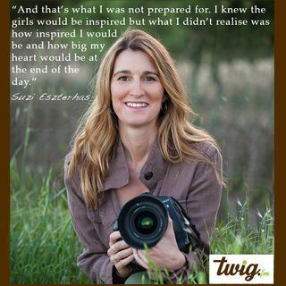 Wildlife Photographer Suzi Eszterhas - Girls Who Click