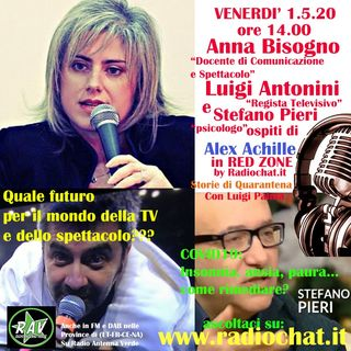 Anna Bisogno, Luigi Antonini e Stefano pieri ospiti di Alex Achille in RED ZONE by Radiochat.it