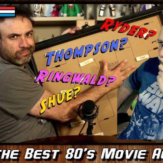 Best 80's Movie Actress [Tournament Bracket]