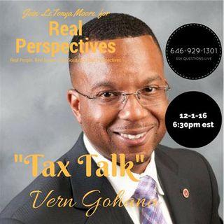 Tax Tips with Vern Gohanna