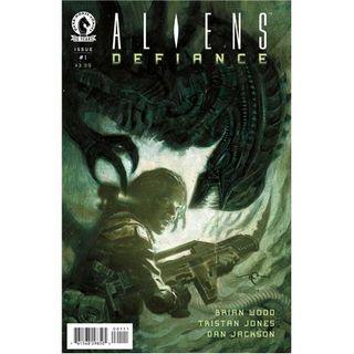 "Source Material #117 - ""Aliens: Defiance"" 1-6 (Dark Horse) (2016)"