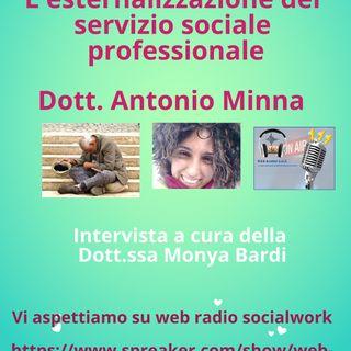 Antonio Minna. L'esternalizzazione del servizio sociale professionale