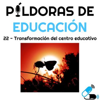 PDE22 - Transformación del centro educativo