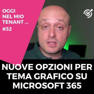 Nuove opzioni per il tema grafico su Microsoft 365