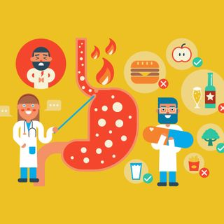 Reflusso gastroesofageo: cause, sintomi e dieta