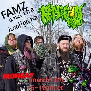 Famz & the Hooliganz Replicon Radio 3/11/19