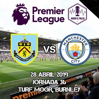 Burnley vs Manchester City en VIVO