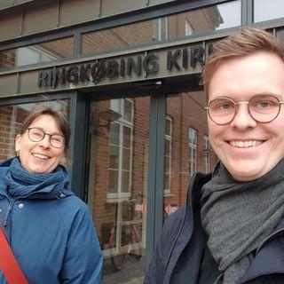 2. s. e. påske. Margrethe Dahlerup Koch i samtale med Jørgen Paakjær Moeslund