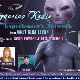 Sean Fowler & Eric Mitchell ~ 10/10/19 ~ Aquarian Radio ~ Host Janet Kira Lessin