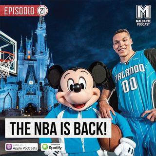 Ep 21- El comeback de la NBA.