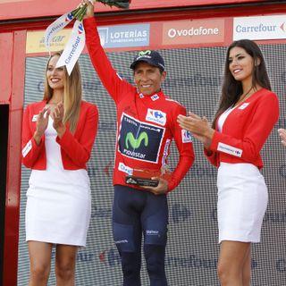 Nairo Quintana sigue líder de la Vuelta tras la 14ª