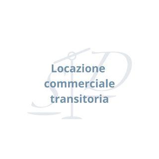Locazione commerciale con durata transitoria