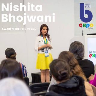 Nishita Bhojwani at The Best You EXPO
