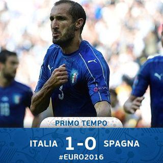 EuroNews - Italia-Spagna 1°T