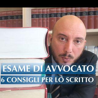Esame di avvocato: 6 consigli per lo scritto