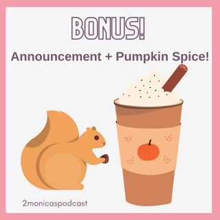 ANNOUNCEMENT: September Gift-away & Pumpkin Spice