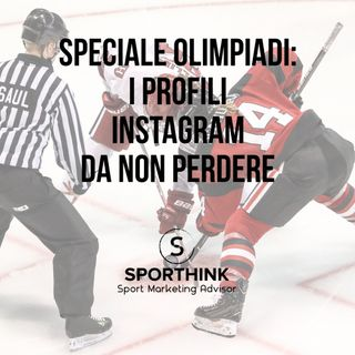 SPECIALE OLIMPIADI I profili Instagram da non perdere