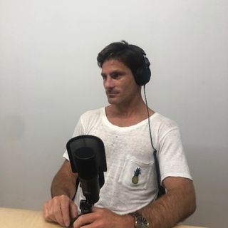 Kookcast Host and Surf Coach Chris Blotiau