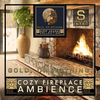 Cozy Fireplace Ambience | White Noise | ASMR & Relaxation | Deep Sleep