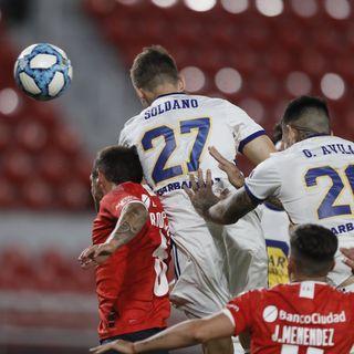 Gol de Boca: Franco Soldano 1-1