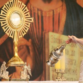Holy is the Eucharist