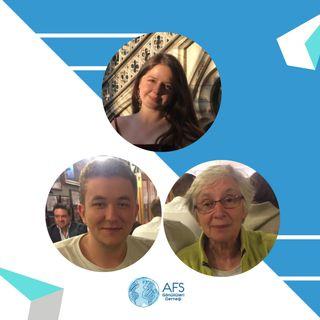 Tüm Belçika AFS'lilerin host annesi Lieve 💝