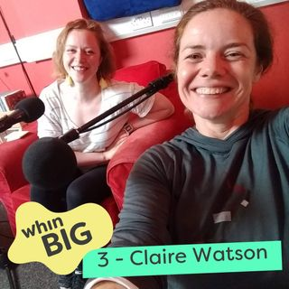3 -  Social enterprise, teaching abroad and Twitter, with Claire Watson