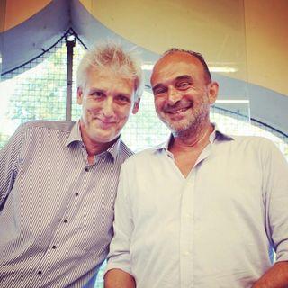 Con il Prof. Luciano Fadiga. Neuroni a specchio e empatia.
