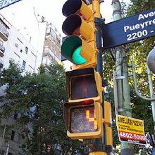 Esteban Gastaldi en Radio 10: el semáforo con cuenta regresiva