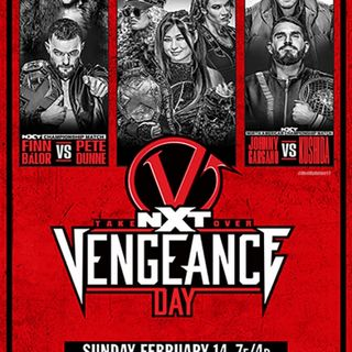 TV Party Tonight: NXT TakeOver - Vengeance Day