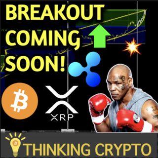 Bitcoin Breakout Upwards Soon via Fibonacci & OnChain Data - Mike Tyson Crypto - SEC Ripple XRP Lawsuit Hinman Deposition