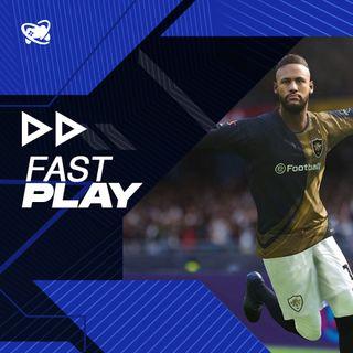 Fast Play (20/07): Neymar no PES 2022, impressões de FIFA 22 e promoção na PS Store