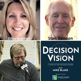 Decision Vision Episode 117: Should I Work for a Non-Profit? – An Interview with Elisa Goodwin, Mission: Hope, and Stan Dawson, Retired from