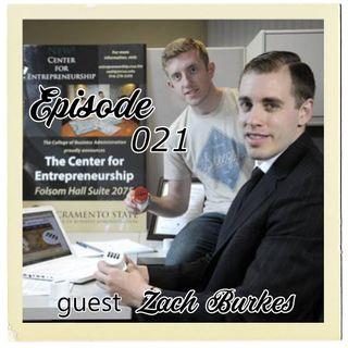 The Cannoli Coach: With Gratitude w/Zach Burkes | Episode 021