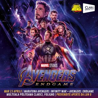 4° SEASON - EPISODE 27 - 29/04/2019 - Avengers: Endgame