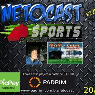 NETOCAST 1298 DE 20/05/2020 - ESPORTES - F1 - FUTEBOL