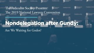 Nondelegation after Gundy — Are we Waiting for Godot?