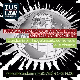 SPECIALE  CONDOMINIO - Il Regolamento contrattuale e le clausole