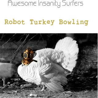 Robot Turkey Bowling