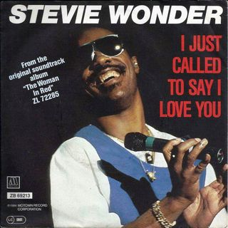 Stevie Wonder - I Jus Called To Say I Love You