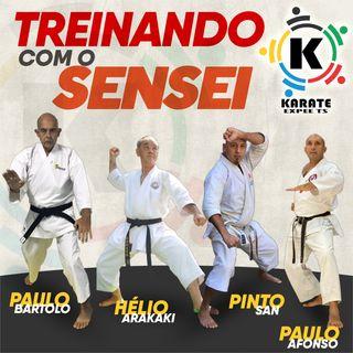 TREINANDO COM OS SENSEI - Rádio Karate