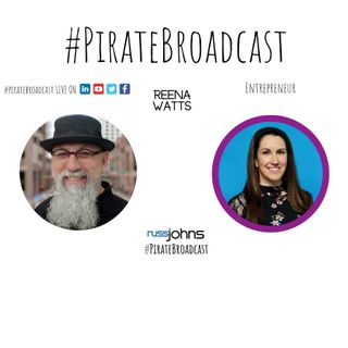 Catch Reena Watts on the PirateBroadcast