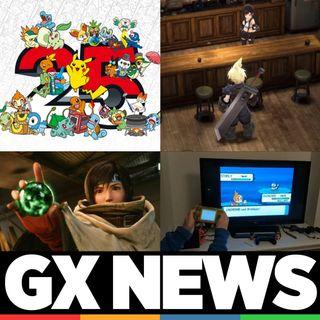 Gamelx News 23 - Pokémon 25 Aniversario, Final Fantasy Ever Crisis, Nintendo DS en TV y Yuffie