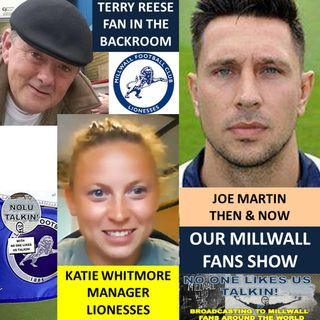 OUR MILLWALL FAN SHOW 150820 Sponsored by Dean Wilson Family Funeral Directors