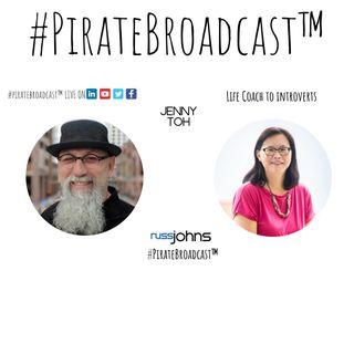 Catch Jenny Toh on the #PirateBroadcast™