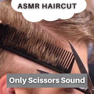 1 Hour of ASMR Haircut 💈 (Only Scissors Sound) ✂️