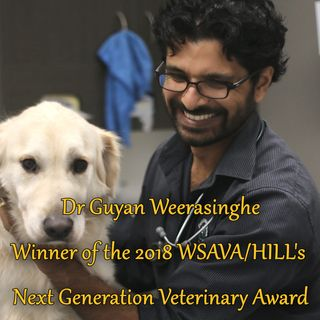 2018 Next Generation Veterinary Award - Dr Guyan Weerasinghe