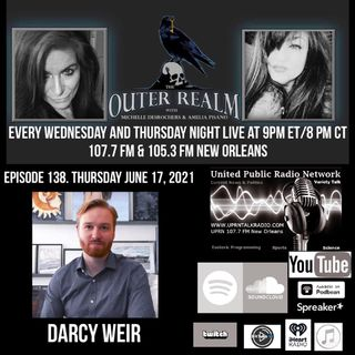The Outer Realm With Michelle Desrochers and Amelia Pisano David W. Wellis and Shane Corson.