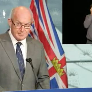 Policy and Right BC Media Update Mike Farnworth Minister Public Saftey Solicitor General